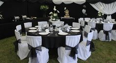 Wedding marquee interiors & decorations