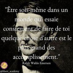 Ralph Waldo Emerson, Citation Entrepreneur, Quote Citation, Morals, Positive Life, Motivation, Sentences, Thats Not My, Life Quotes