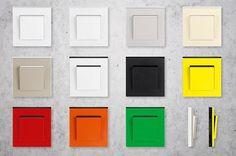 Nová designová řada Levit nabízí 11 barev, variant však může být mnohem více,