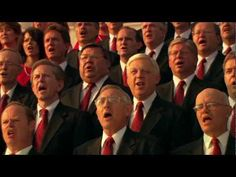"The Mormon Tabernacle Choir is the best at singing Patriotic hymns & tunes. No wonder they're called ""America's Choir."""