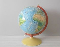 green world globe // raised relief atlas // 12 inch // back to school
