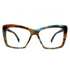 fc369984872 Sorellina in Ocean Mosaic Made In Italy Oblong Face Shape