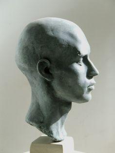 Dark Silence In Suburbia Anatomy Drawing, Anatomy Art, Face Anatomy, Human Anatomy, Traditional Sculptures, Sculpture Head, Portrait Art, Sculpture Portrait, Portraits