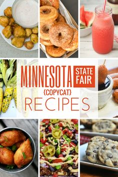 Minnesota State Fair recipes for all the amazing food like fried pickles, mini donuts, roasted corn on the cob, sweet martha's cookies and more. All recipes are kid friendly and deliciously easy to make at home State Fair Party, State Fair Food, State Fair Theme, Maple Butter Recipe, Fried Pickles Recipe, Minnesota State Fair, Minnesota Food, Carnival Food, Backyard Carnival