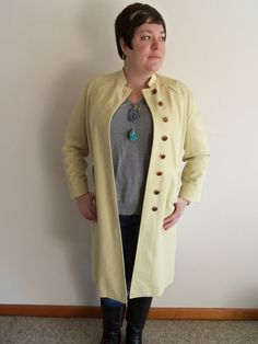 Vintage Plus Size 1960s Misty Harbor Pale Yellow by FunkyOldSoul, $48.00