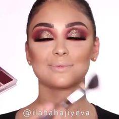 Maquiagem rosto And what about this glorious make up ! Makeup Trends, Makeup 101, Glam Makeup, Makeup Inspo, Makeup Inspiration, Makeup Hacks, Eye Makeup Tutorials, Makeup Products, Makeup Tutorial Videos