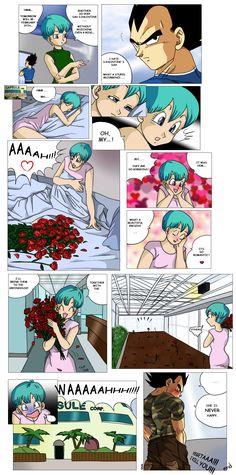 Vegeta and Bulma - S.Valentine by pallottili on DeviantArt