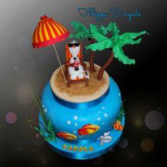 #sugarcake #cakedesigne #birthdaycake #topper #olafcake
