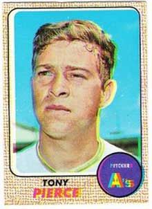 1968 Topps Milton Bradley Tony Pierce Oakland Athletics Baseball Card for sale online Baseball Card Collectors, Sandy Koufax, Baseball Cards For Sale, Willie Mays, Childhood Games, Oakland Athletics, Trading Card Database, Baseball Players, Athlete