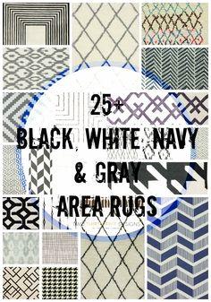 Nate Berkus Hand Woven Area Rug GrayIvory 5x7
