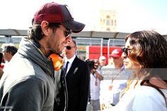 Singer Enrique Iglesias on the grid before the European Formula One Grand Prix at Baku City Circuit on June 19, 2016 in Baku, Azerbaijan.