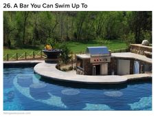 This is so awesome. I would love this in my backyard for entertaining.