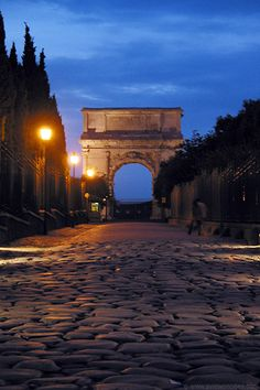 Rome Italy. Arch of Titus