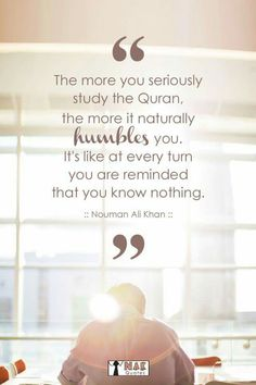 Inspirational Quotes & Sayings By Nouman Ali Khan. Nouman Ali Khan is an American Muslim who has contributed a lot to the Muslim society by awakening the youth through his speeches and lectures. Allah Quotes, Muslim Quotes, Quran Quotes, Quotes Sahabat, True Quotes, Beautiful Islamic Quotes, Islamic Inspirational Quotes, Inspiring Quotes, Awesome Quotes