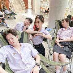 Yuri, Thailand Flag, Boy Meme, Thai Tea, Girls Uniforms, Thai Drama, A Whole New World, Drama Film, Kawaii Fashion