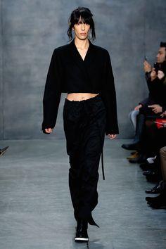 Highlights From New York Fashion Week Fall 2015  - ELLE.com  VERA WANG
