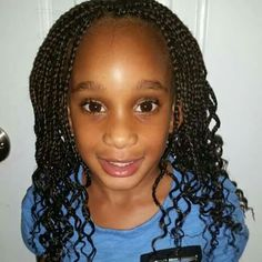 Kids box braids by Affordable  African hair braiding and weaving 9728155561