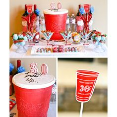 Red Solo Cup Birthday Party Printables Collection.  This made me laugh so hard.  Great idea for a silly party