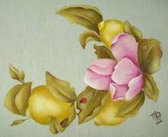 Resultado de imagen para pinterest caminos de mesa pintura en tela