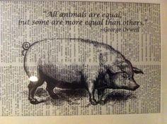 George Orwell Animal Farm quote