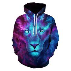 Lightning Cat Hoodie | Roupas da moda para adolescente