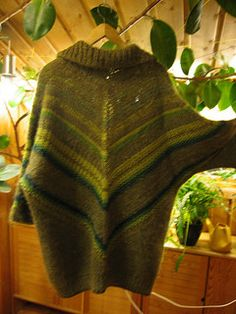 I made this almost 20 years ago; I'm posting it now as a sort of companion to the Tunisian triangle jacket, which is made the same way. The short version is: begin by casting on 3 stitches at...