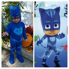 Halloween is around the corner. There are so many wonderful ways to dress up the kids, and the kids look cute and adorable in all these costumes. Toddler Halloween Costumes, Boy Costumes, Halloween Games, Halloween Kids, Halloween Crafts, Halloween 2016, Costume Ideas, Pj Masks Kostüm, Festa Pj Masks