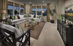 Does an open living space top your list of must-haves? #realestate #newhome #decor #livingspace #relax #orangecounty
