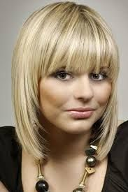 medium length hair with bangs - Google Search
