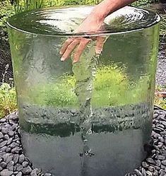 Cascade, fontaine de jardin et pièce d\'eau –projets modernes ...