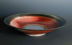 Eddie Curtis 2005   Copper Red on Porcelain