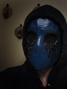 Eyeless Jack paper mache mask<<---- I WANT THIS MASK!!!! XDDDD