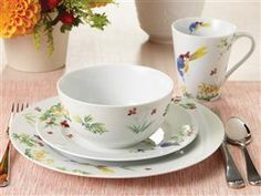 Spring Medley Dinnerware Set (16-pc.) by Paula Deen at Food Network Store
