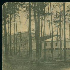 State Insane Asylum. Alexandria, La :: LSU Libraries Postcard Collections