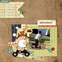 Adventure - Scrapbook.com