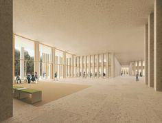 """David Chipperfield Architects — """"SOGLIO"""": The Circle at Zurich Airport — Image 7 of 8 — Europaconcorsi"""