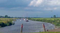 Reitdiep near Wierumerschouw, Groningen