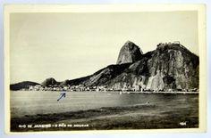 Foto tipo Postal: Rio de Janeiro - O Pão de Assucar. MBC.