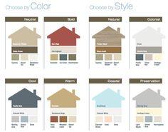 certainteed vinyl siding herringbone color | Vinyl Siding Colors and…
