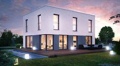 ICON CUBE : Moderne Häuser von Dennert Massivhaus GmbH