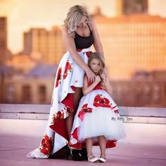 These mommy and me outfits are great for dress up time.