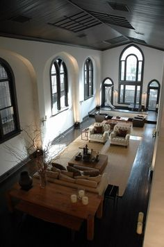 NYC converted church house