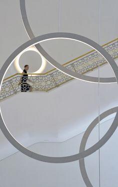 Detail of stairway, Palace of International Forums, Uzbekistan