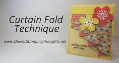 Curtain Fold Technique with Affectionately Yours Designer Paper from Sta...