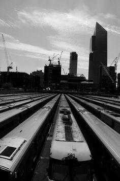 Train Railroad Tracks, Nyc, Train, Strollers, New York, Train Tracks