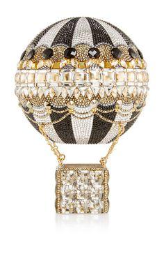 Hot air balloon clutch by JUDITH LEIBER for Preorder on Moda Operandi