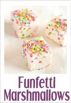 Funfetti Marshmallows-RECIPE