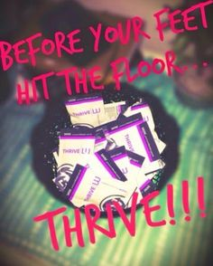 Three steps first thing in the morning! You Cannot get any easier then that!!! Feel your absolute best every day! All NEW customers that purchase at least $100 in Thrive products will receive a weeks worth of Capsules for FREE! Why not give it a try... You have nothing to lose!!! http://jamieromines.le-vel.com