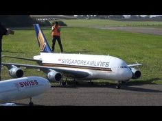 WORLD BIGGEST Radio controlled 4xTURBINE MODELL AIRLINER A-380 by PETER ...