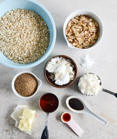 Coconut Butter Granola - Going to make this gluten free by changing out the Oats and using CF gluten Bob's Red Mill Oats